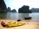 Hanoi bay kayaking