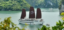 Halong Explorer and Kayak Discovery on Treasure Junk  2 nights  3 1
