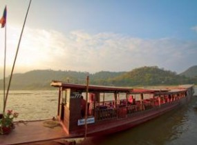 Cruise from Huay Xay to Pakbeng and Luang Prabang (2 days)