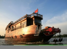 Two Nights on board of the Mekong Eyes Cruise (3 days)