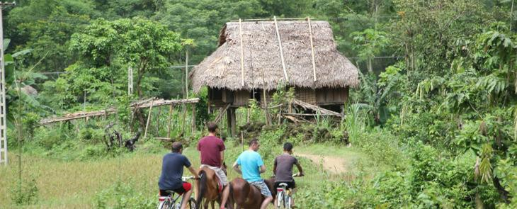 Cycling Pu Luong nature reserve  3 days      5