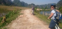 Tam coc cycling
